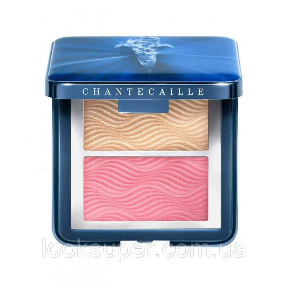 Хайлайтер Chantecaille Vibrant Oceans Radiance Chic Cheek And Highlighter Duo - Rose (6g)