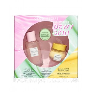 Набор Glow Recipe Glowipedia Dewy Skin Set ( 40ml, 25ml, 5ml ) Ограниченый выпуск