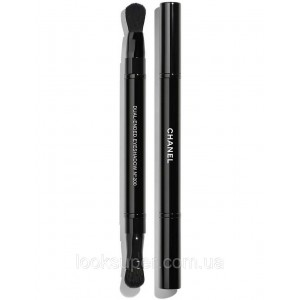 Двойная  кисть для теней CHANEL PINCEAU DUO PAUPIÈRES RÉTRACTABLE N°200 retractable dual eyeshadow brush