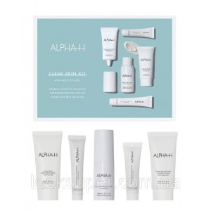 Набор ALPHA -H Clear Skin Kit ( 3 x 30ml, 15ml, 7.5ml )
