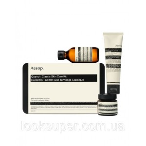 Набор для сухой кожи  Aesop Quench: Class Skin Care Kit