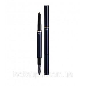 Инновационный двухсторонний карандаш для бровей CLÉ DE PEAU BEAUTÉ Eyebrow Pencil Cartridge 201