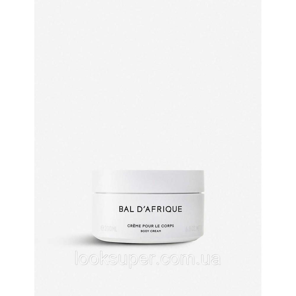 Крем для тела BYREDO Bal D'afrique body cream (200ml)