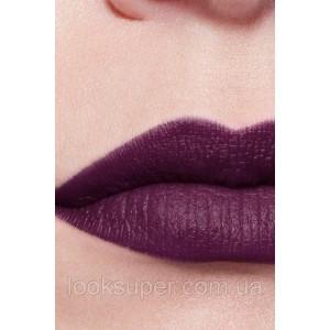 Жидкая матовая помада для губ CHANEL ROUGE ALLURE ink matte lip colour  182 - COLD PURPLE